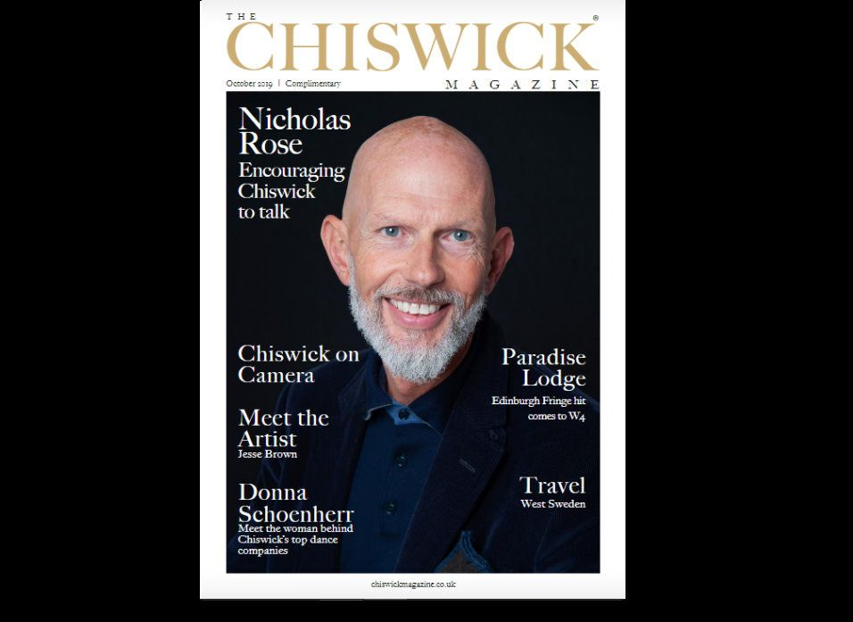 Nicholas interviewed October Chiswick Magazine